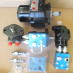 Hydraulic motor and valves|
