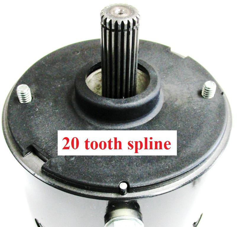 Motor 12 volt Iskra Mahle on