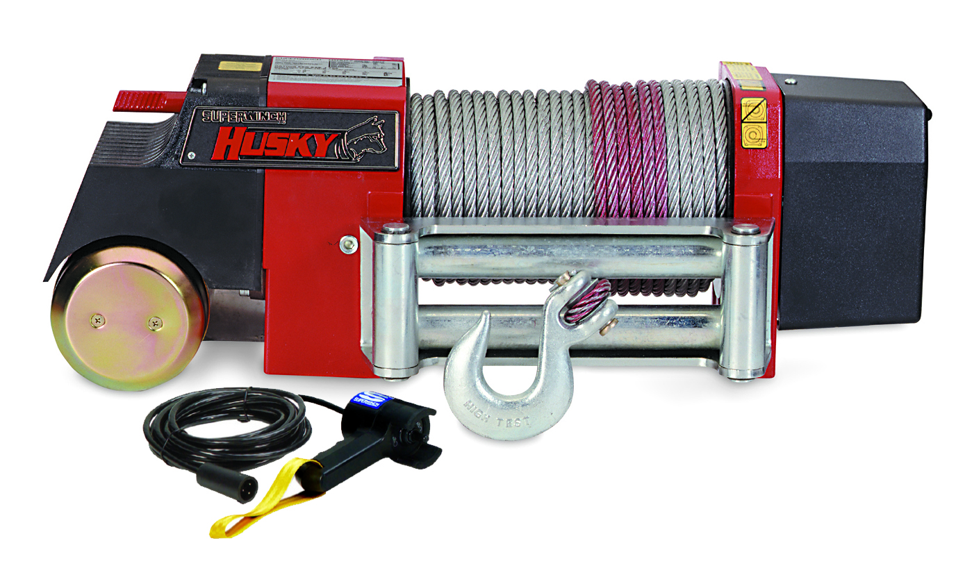 4x4 winch and industrial winch Superwinch Husky10 12 or 24