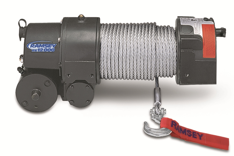 Ramsey Re12000 Electric Worm Drive Winch