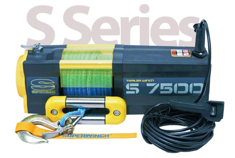 Electric winch DC Superwinch S7500 on